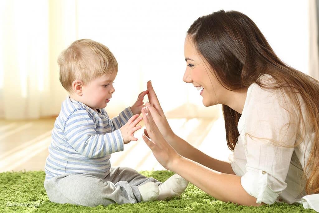 بازی با نوزاد از 6 تا 12 ماهگی