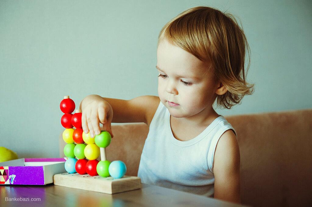 آموزش شمردن به کودک دو ساله