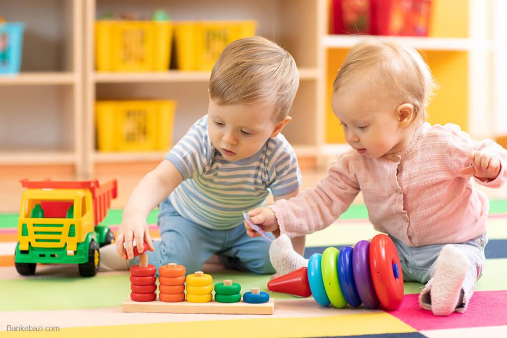 راهنمای بازی با کودک 2 ساله
