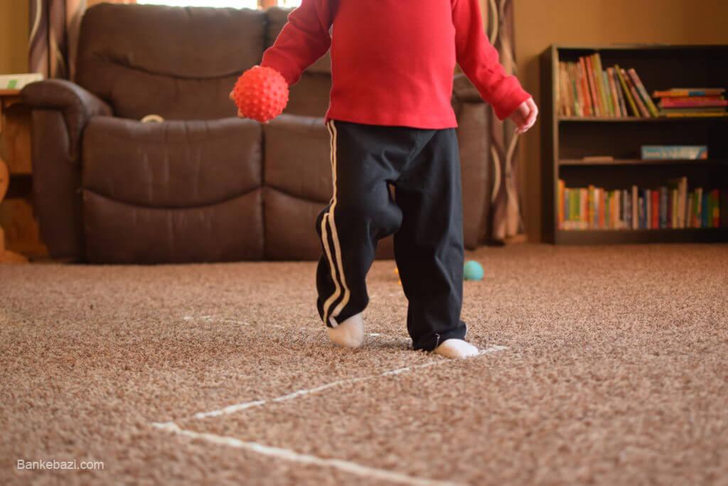 بازی با کودک سه ساله در خانه