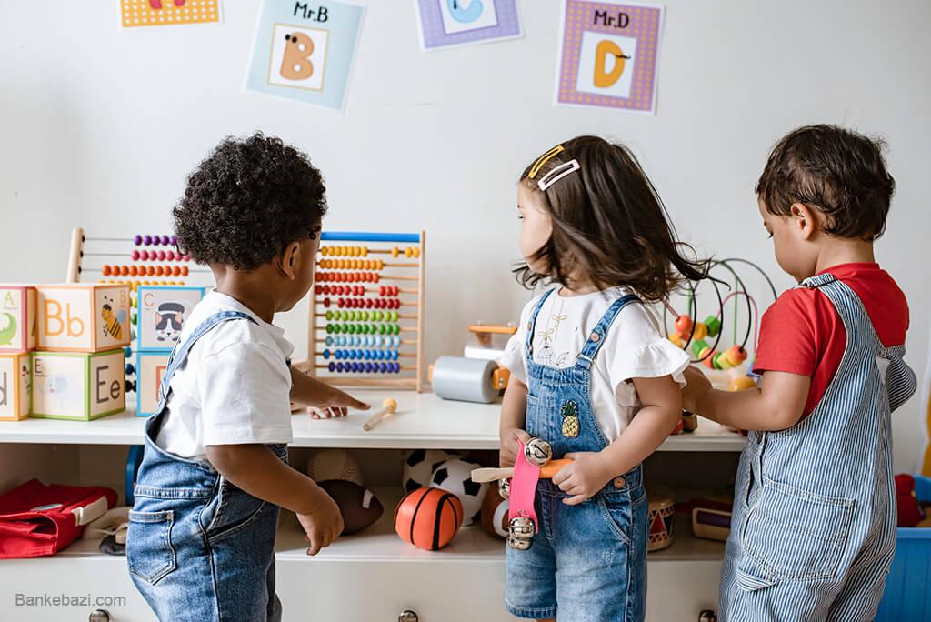 بازی های تعاملی کودک سه ساله