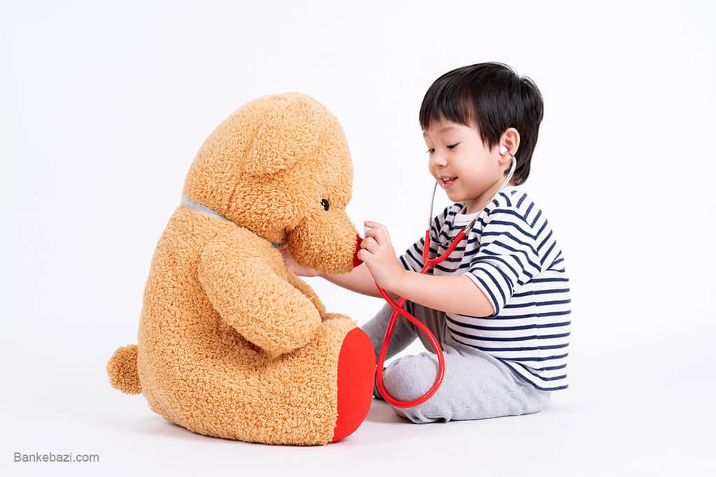 بازی های نمایشی کودک سه ساله