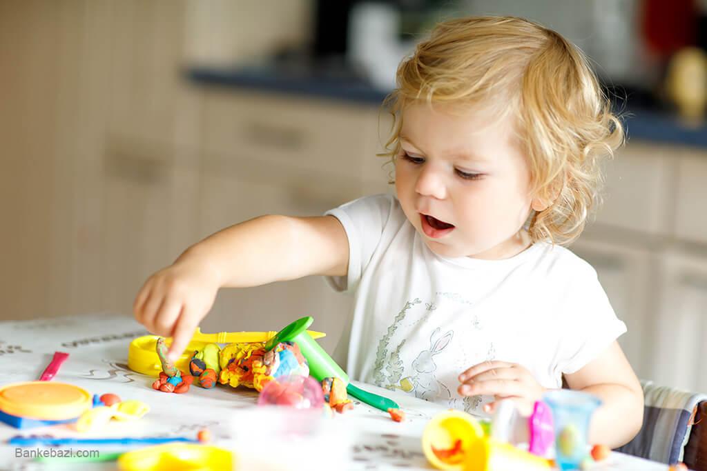 بازی های مستقل کودک سه ساله