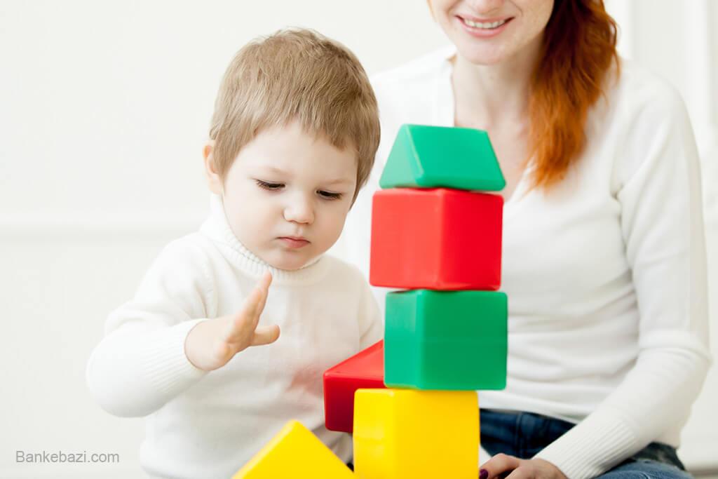 بازی با کودک 1 ساله