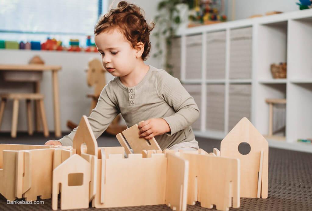 مزیت بازیافت پذیری اسباب بازی های چوبی