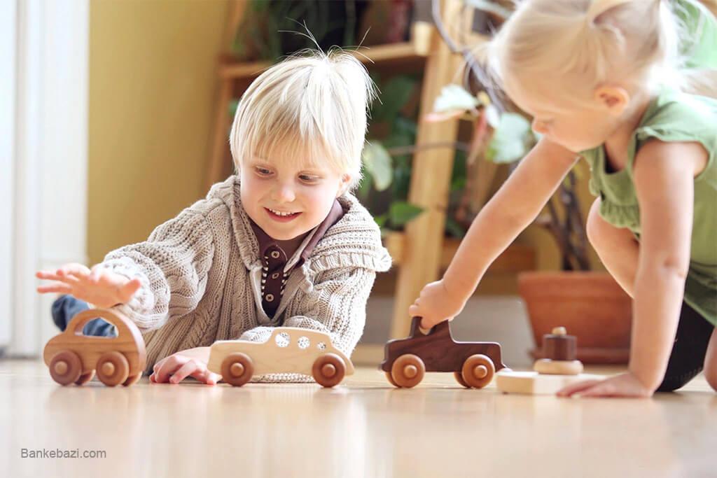 رشد مهارت های حرکتی با اسباب بازی های چوبی