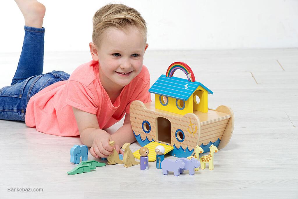 کیفیت و زیبایی اسباب بازی های چوبی