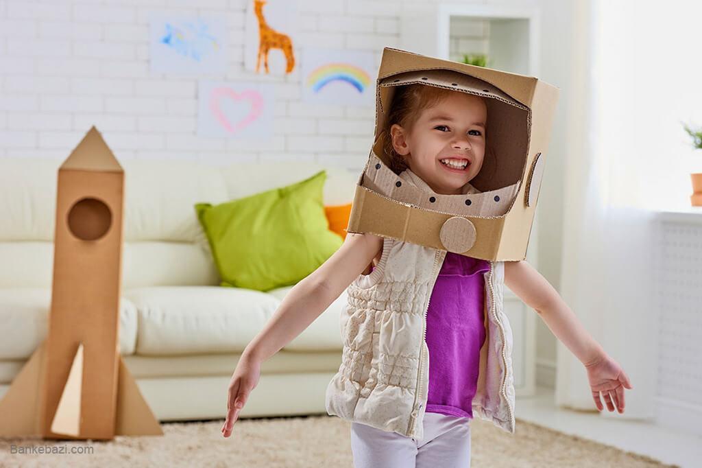 ایجاد خلاقیت در کودکان