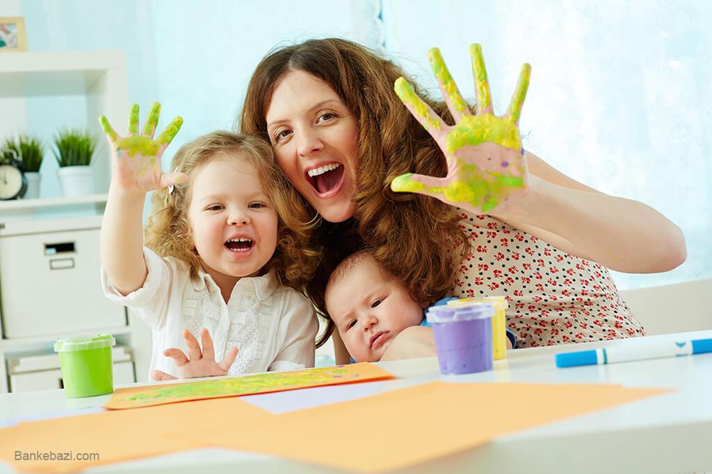 روش های پرورش کودک خلاق