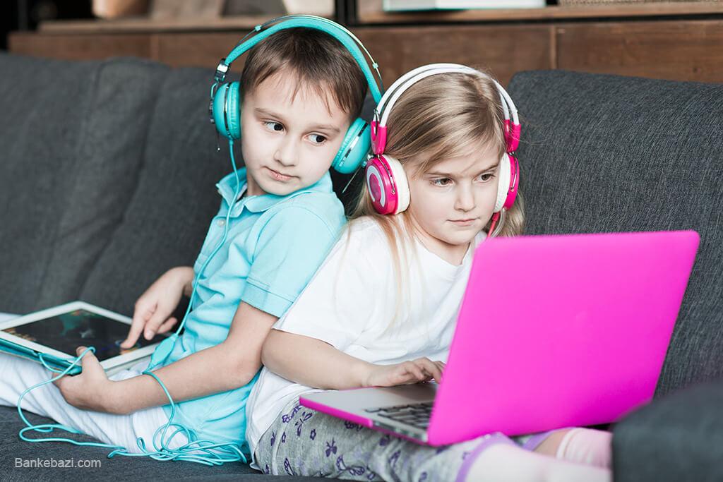 نقش بازی های کامپیوتری در شادی کودکان