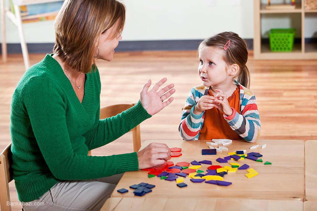 بازی با کودک پنج و شش ساله