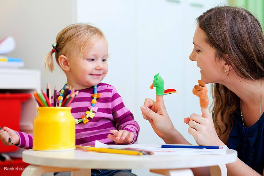 بازی نمایشی با کودک 4 ساله