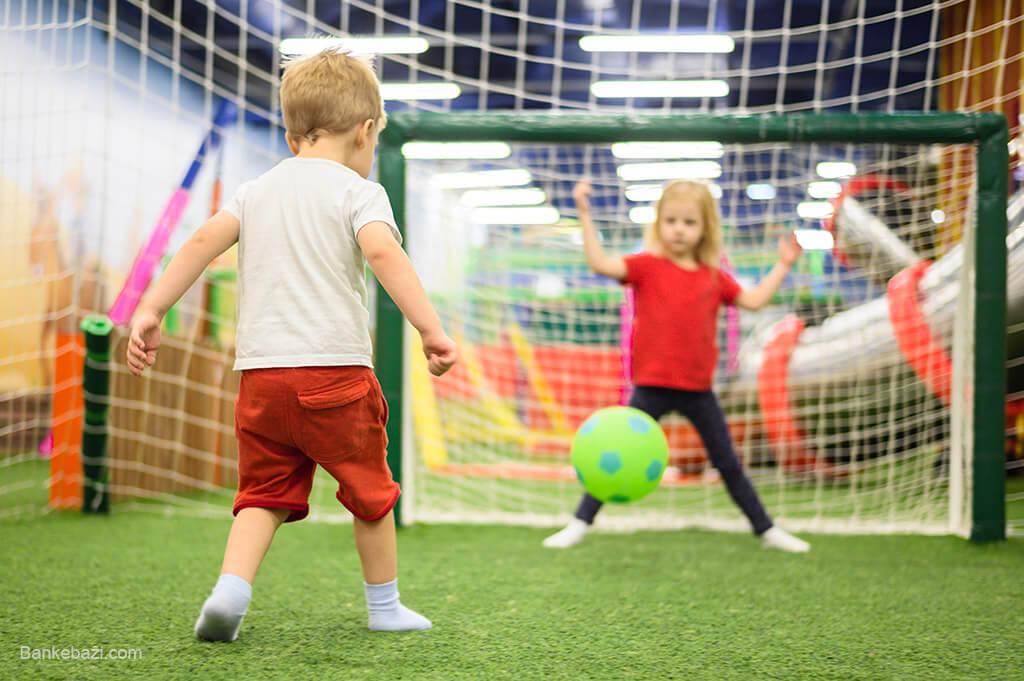 بازی های ورزشی کودک چهار ساله