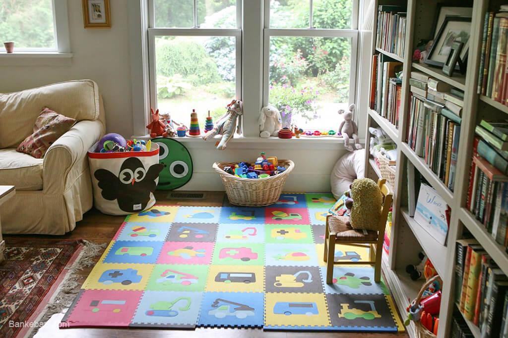 جایگاه اختصاصی برای تشویق کودکان به بازی مستقل