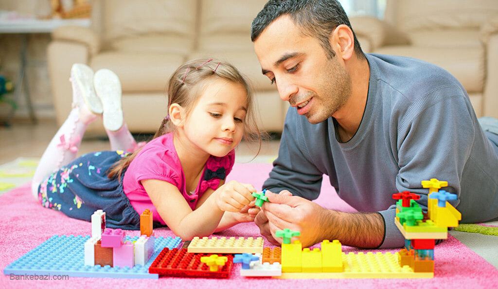 آموزش مستقل بازی کردن به کودک