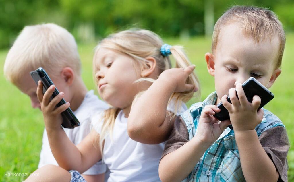 ضررهای تکنولوژی بر کودکان