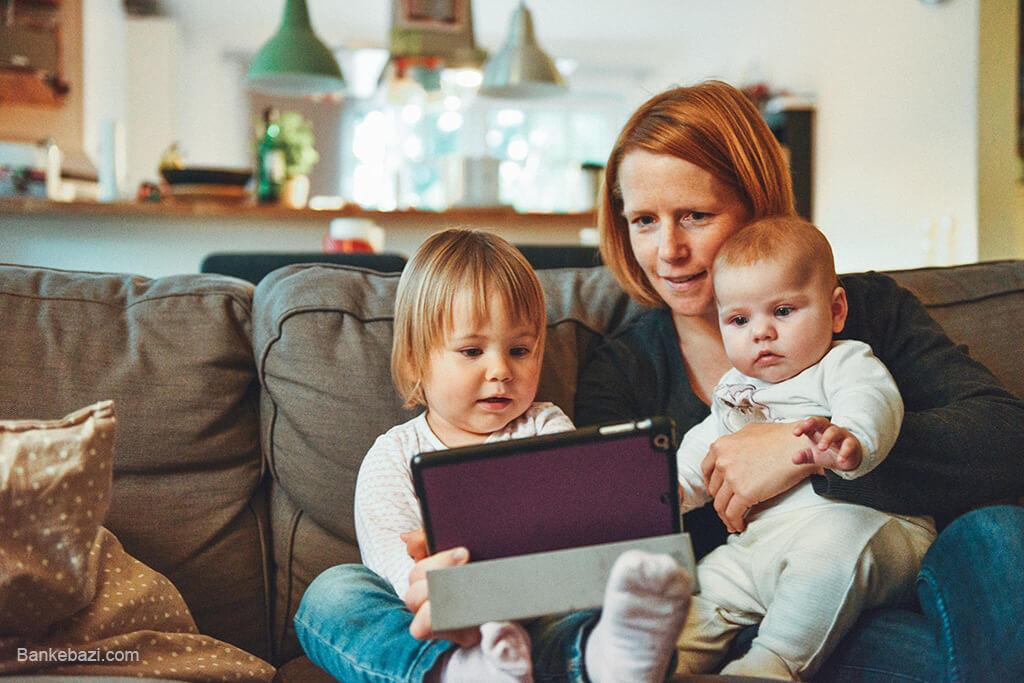 استفاده کودکان از تکنولوژی