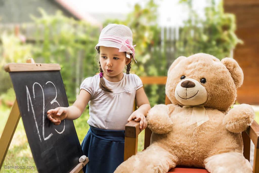 تاثیر بازی با عروسک پولیشی بر رشد زبان