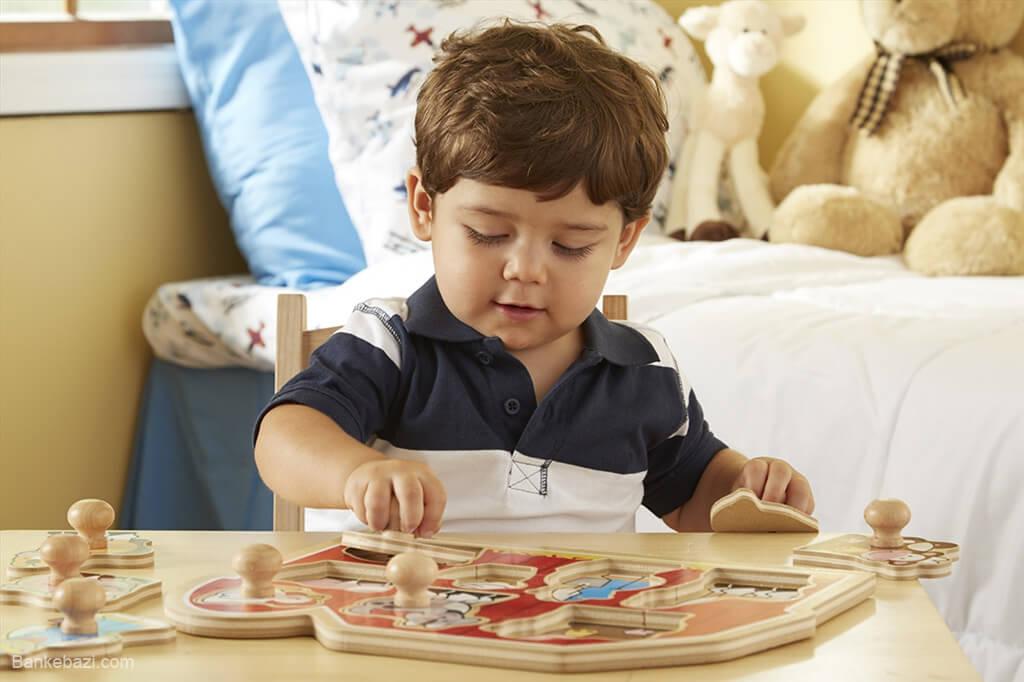 پازل های مناسب کودکان تا دو سالگی