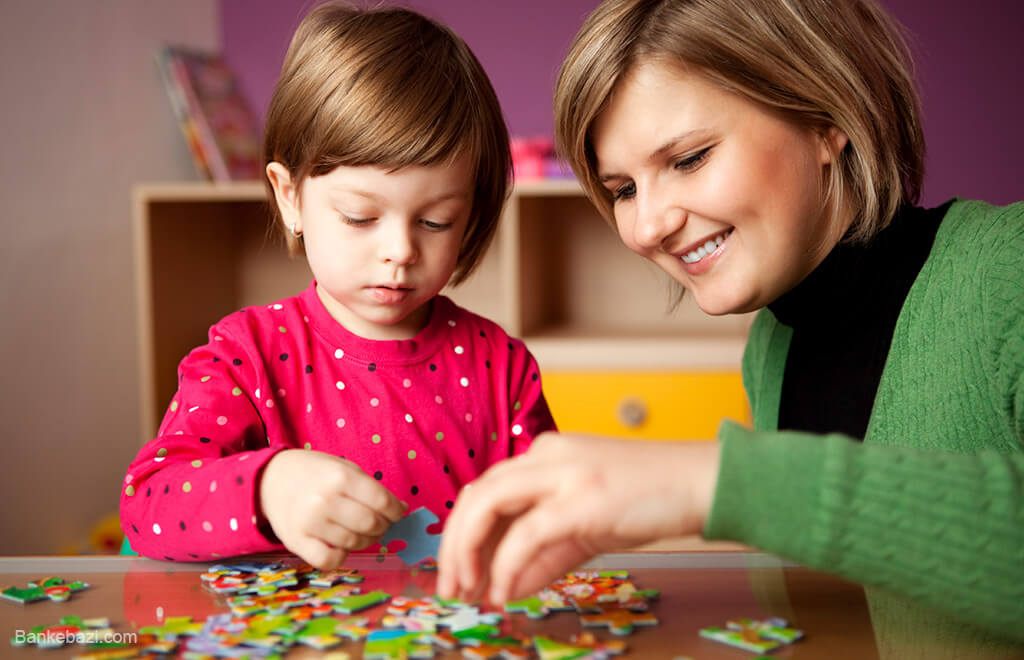 پازل برای کودکان 3 تا 5 ساله