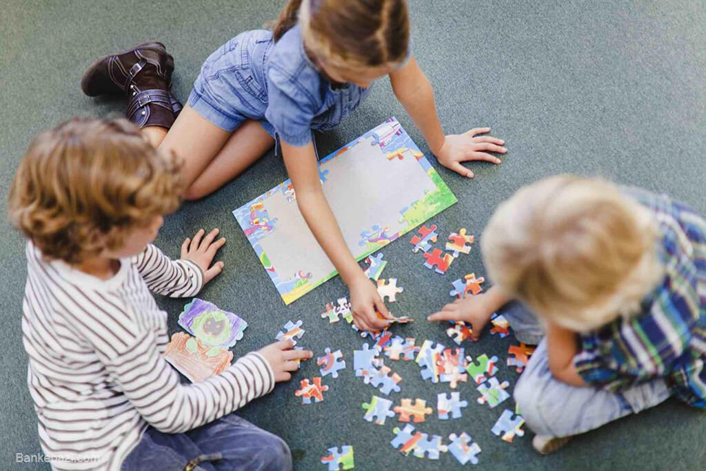 پازل های برای کودکان 5 تا 8 سال