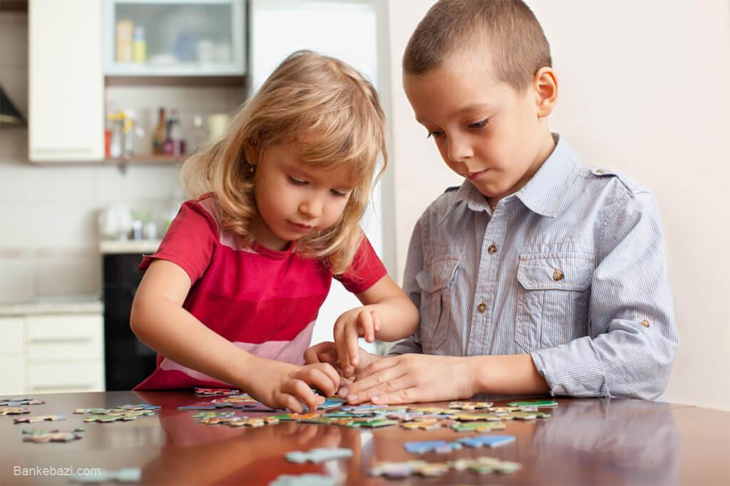 بازی پازل برای کودکان