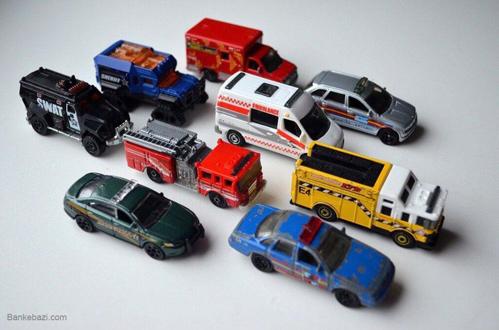 مراقبت و تمیز کردن اسباب بازی های فلزی