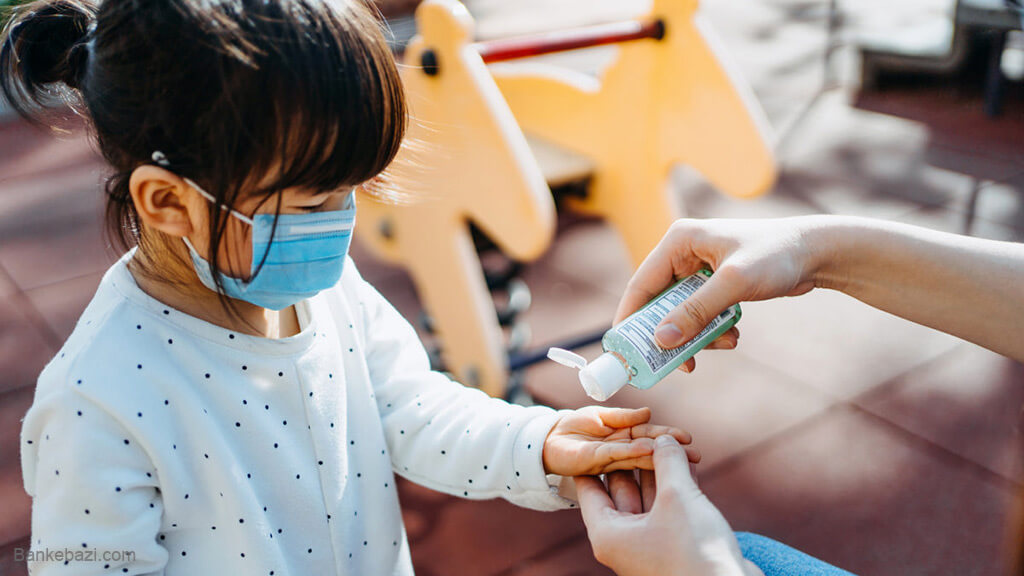 حفاظت جسمانی از کودکان در مقابل ویروس کرونا