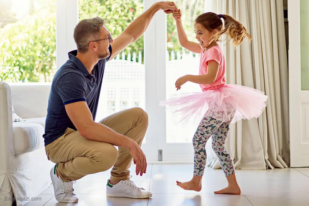 بازی با کودکان در خانه