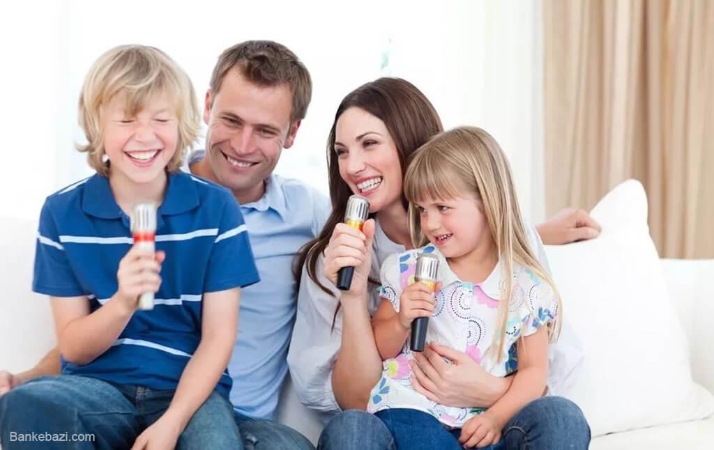 بازی های سرگرم کردن کودکان در خانه