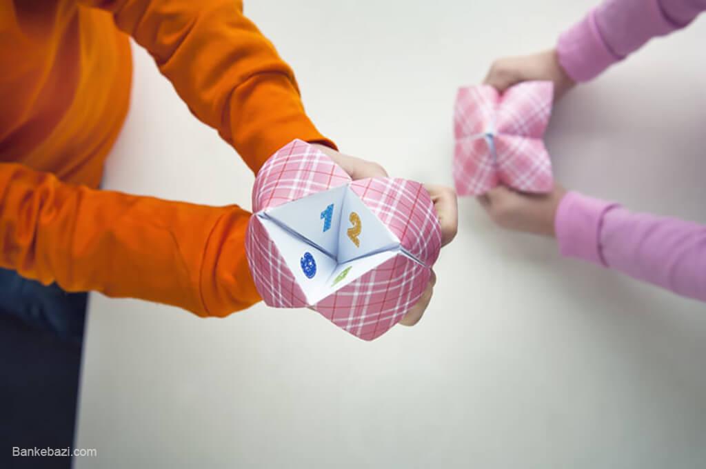 بازی درون خانه برای کودکان