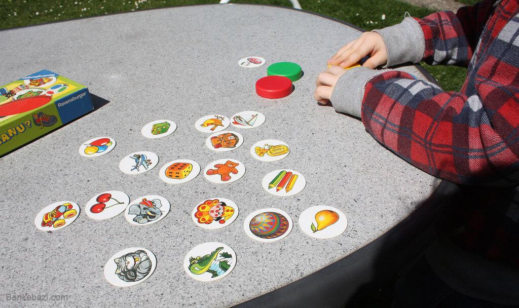 بازی های رومیزی برای بچه های زیر 5 سال