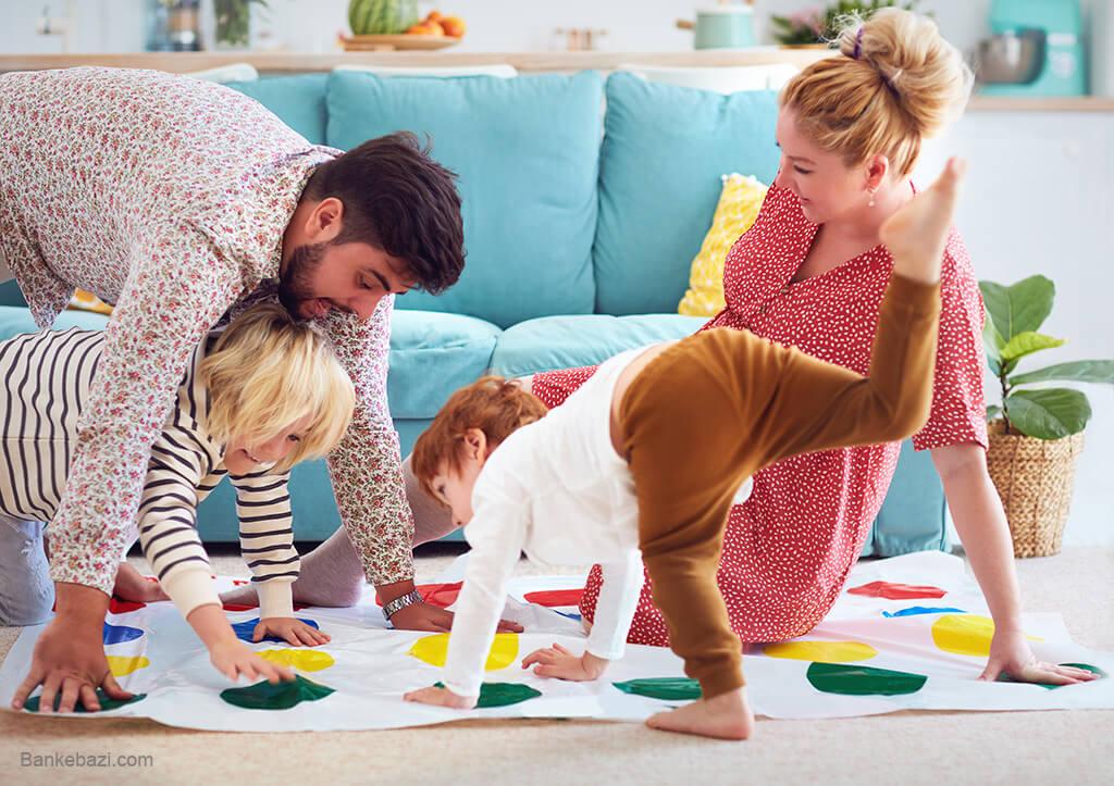 بازی های خانوادگی لذت بخش