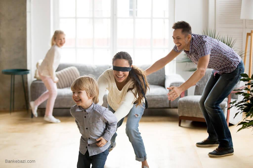 راه و رسم بازی در کنار اعضای خانواده