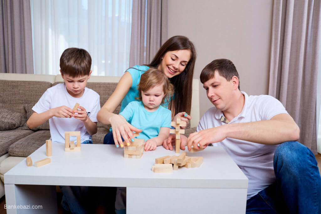 نکات مهم در بازی های خانوادگی