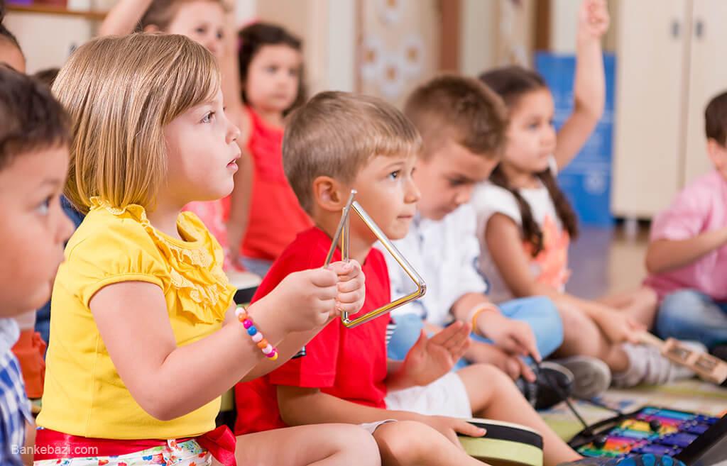 فواید یادگیری موسیقی در کودکان