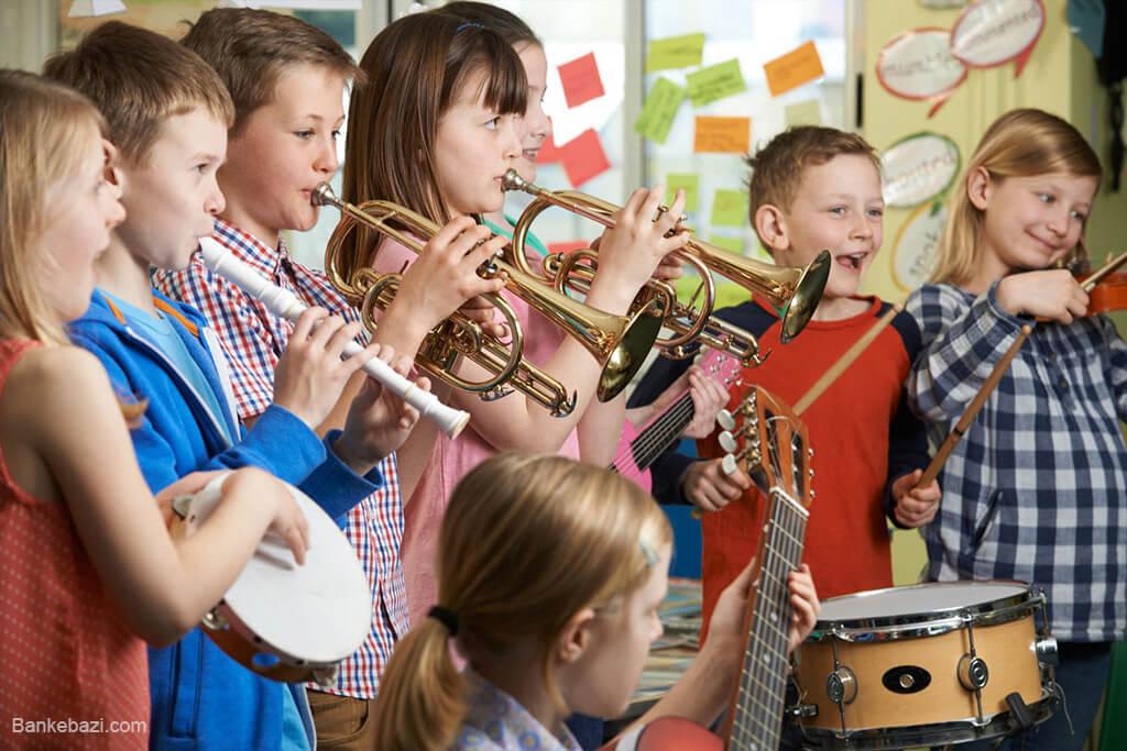فواید آموزشی موسیقی برای کودکان