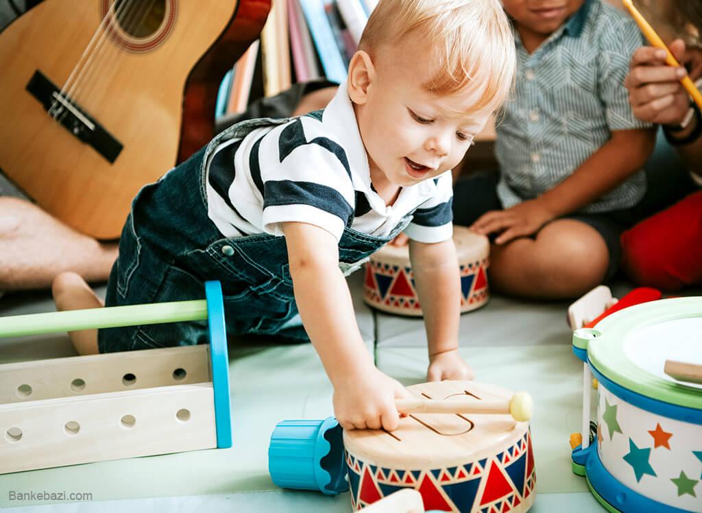 آموزش موسیقی به کودکان با بازی