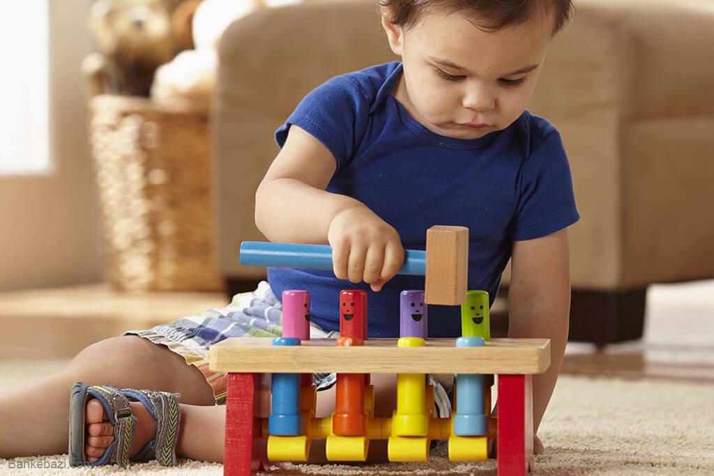بازی کوبه برای تقویت مهارت دست کودکان