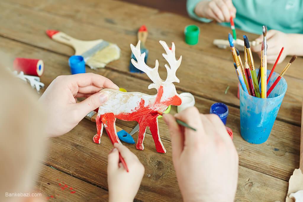 اثر نقاشی بر مهارت دست ورزی کودکان