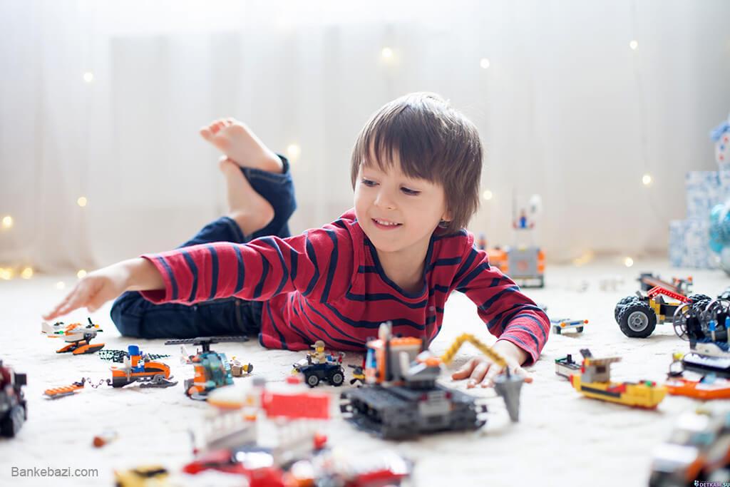 اثر لگر بر تقویت مهارت دست ورزی کودکان