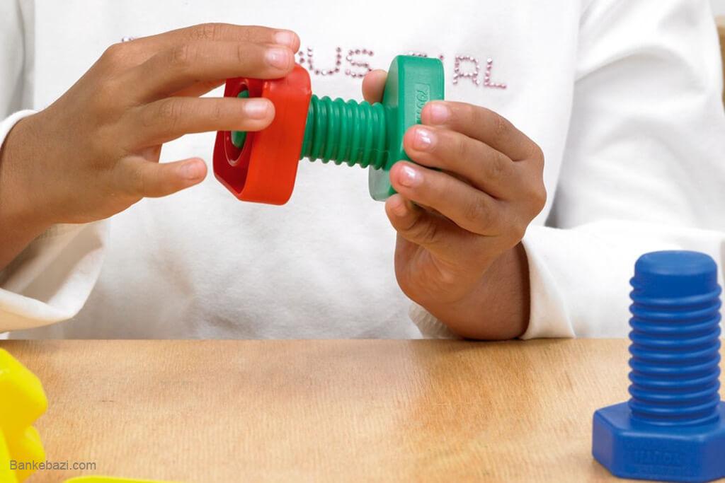 تقویت مهارت دست کودکان از راه بازی