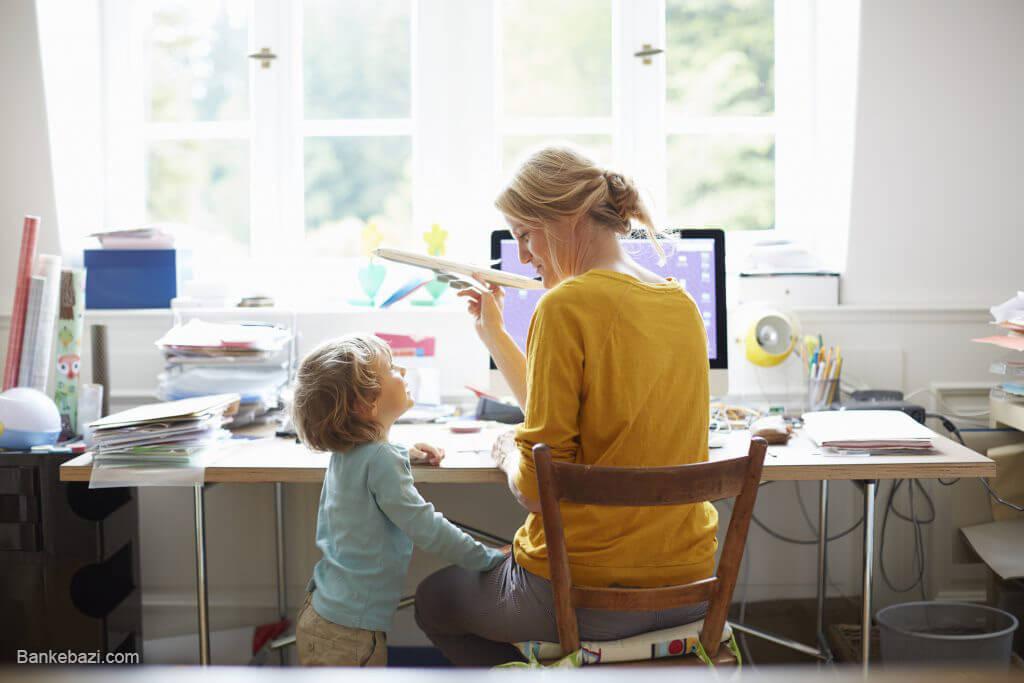 راه هاییی برای والدینی که از بازی کردن با کودک خود خسته شده اند